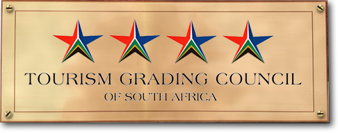 New Rush Guesthouse - 4 Star Grading from Tourism Grading Council of South Africa