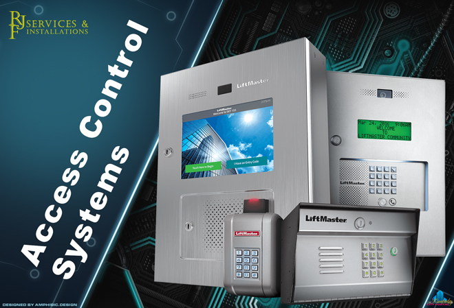 RJF Services & Installations Kimberley: Access Control Systems