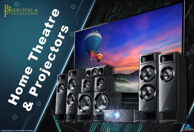 RJF Services & Installations Kimberley: Home Theatre Systems and Projectors