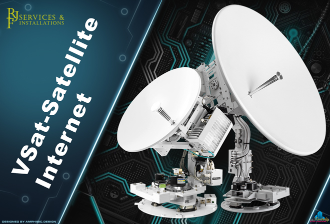 RJF Services & Installations Kimberley: V-Sat Satellite Internet