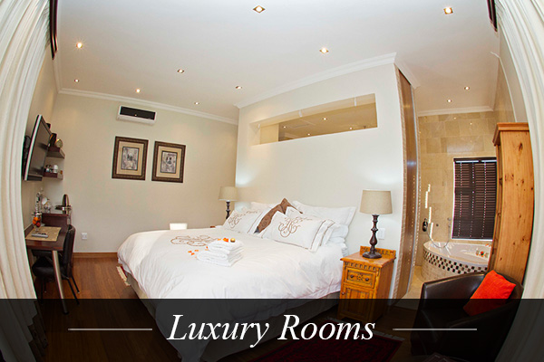 Luxury Rooms at Swanlake Luxury Accommodation at Magersfontein Memorial Golf Estate near Kimberley, Northern Cape