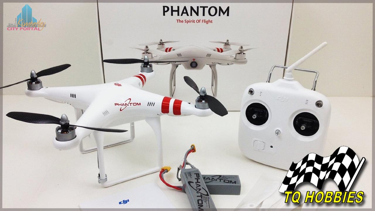 DJI Phantom 2 Vision+ camera drone at TQ Hobbies Kimberley