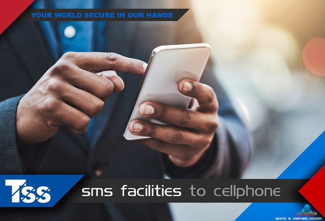 TSS Top Security Systems Kimberley: Services - SMS Facilities to cellphone