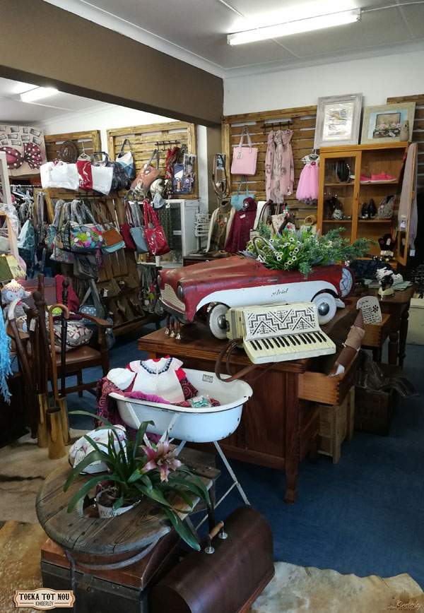 Beautiful Antiques at Toeka tot Nou Coffee Shop Kimberley
