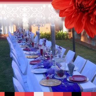 Villa Mexicana in Kimberley caters for special events like weddings, birthday bashes, kitchen teas, baby showers, year end functions and much more