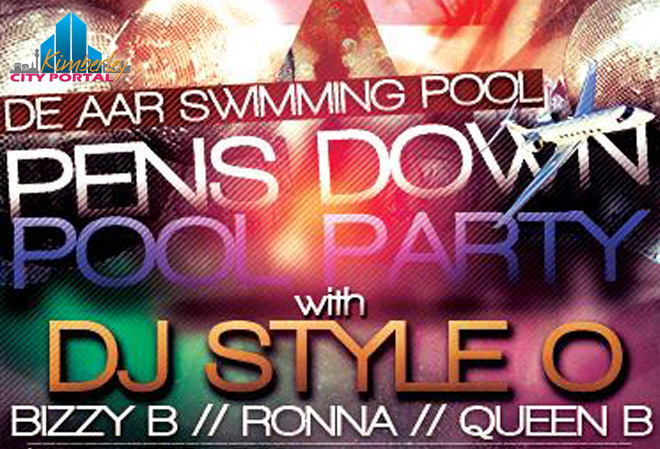 Pens Down Pool Party with DJ Style O - De Aar Swimming Pool