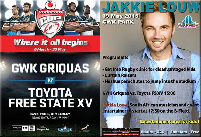 Vodacom Cup & Jakkie Louw @ GWK Park