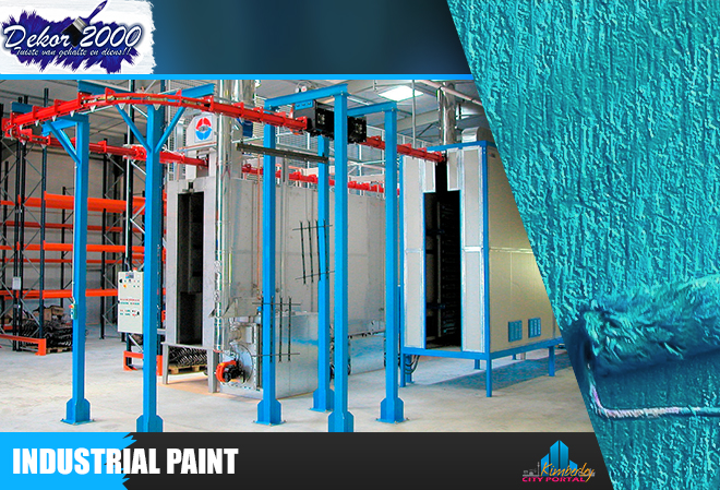 Industrial Paint at Dekor / Decor 2000 in Kimberley