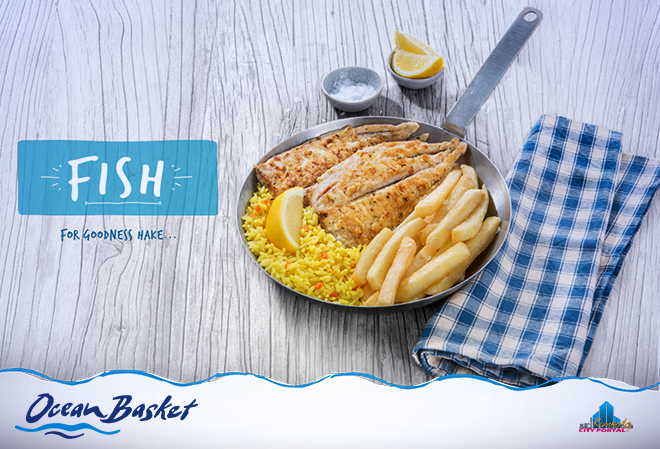 Fresh Fish at Ocean Basket in Kimberley