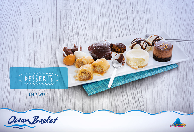 Decadent, delicious desserts at Ocean Basket in Kimberley