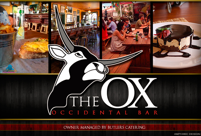 Butlers closed down but Head Chef Daniel is now running the Occidental Bar