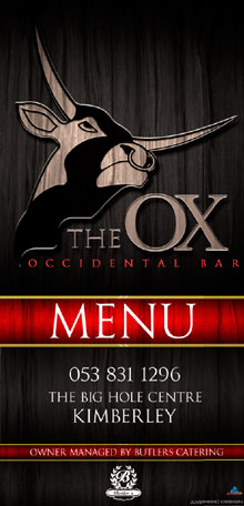 View The Ox Menu