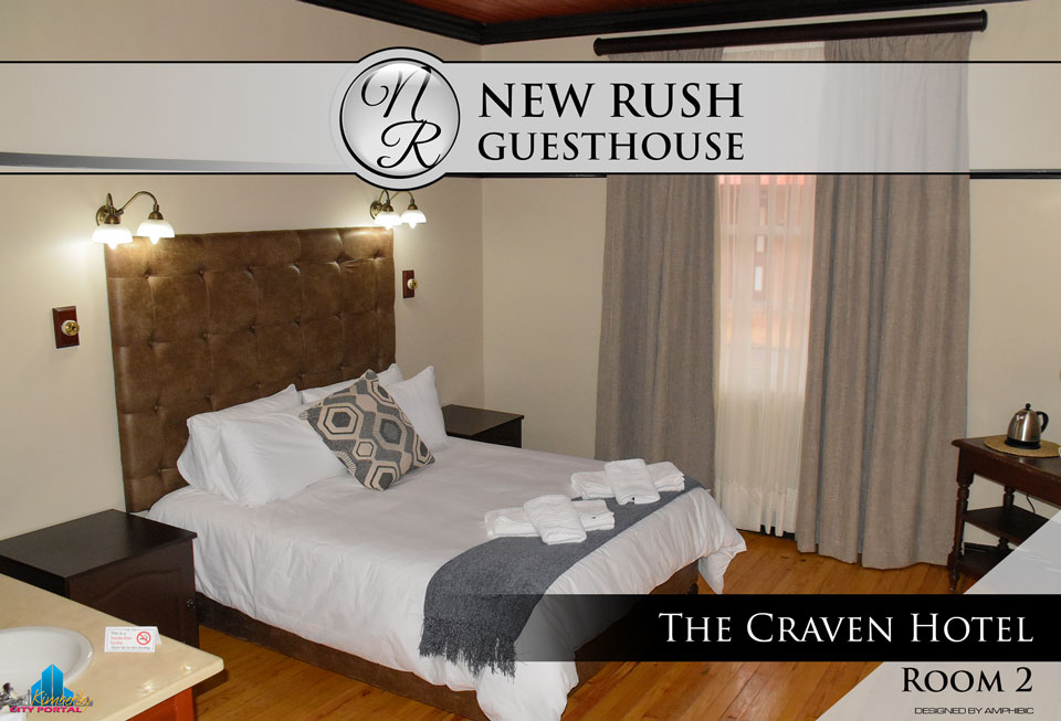 The Craven Hotel - Room 2: New Rush Guesthouse, Kimberley Big Hole Complex