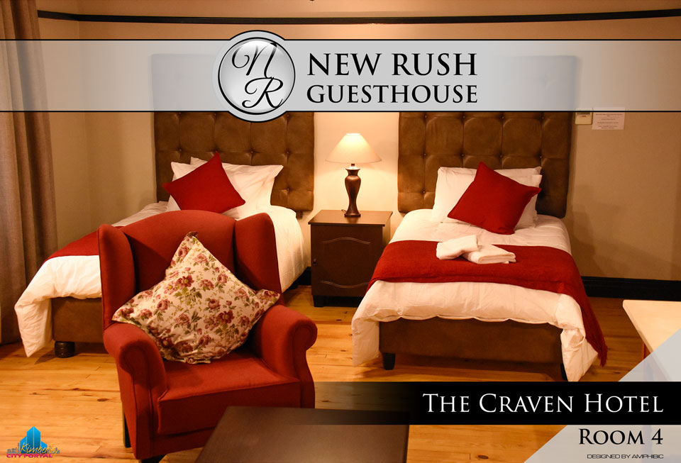 The Craven Hotel - Room 4: New Rush Guesthouse, Kimberley Big Hole Complex