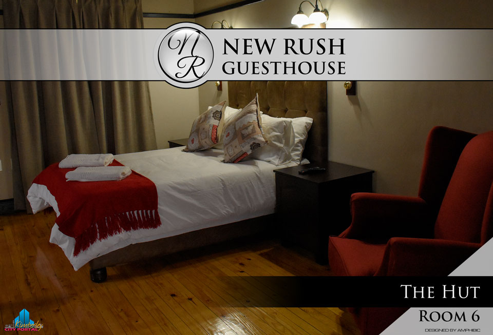 The Hut - Room 6: New Rush Guesthouse, Kimberley Big Hole Complex