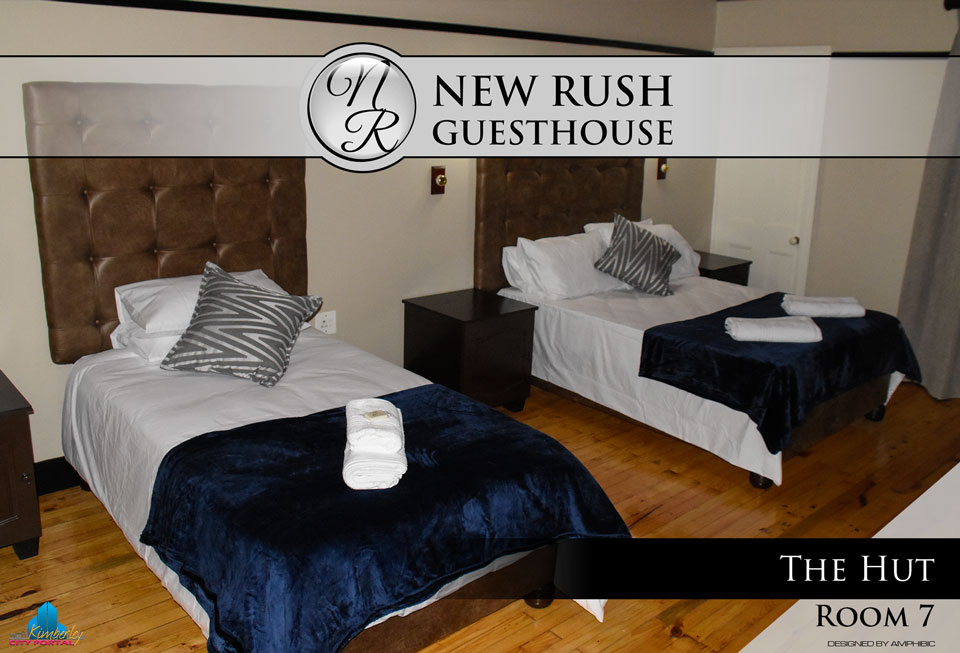 The Hut - Room 7: New Rush Guesthouse, Kimberley Big Hole Complex