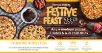 Festive Feast Promotion @ Debonairs