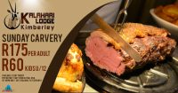 Sunday Carvery @ Kalahari Lodge