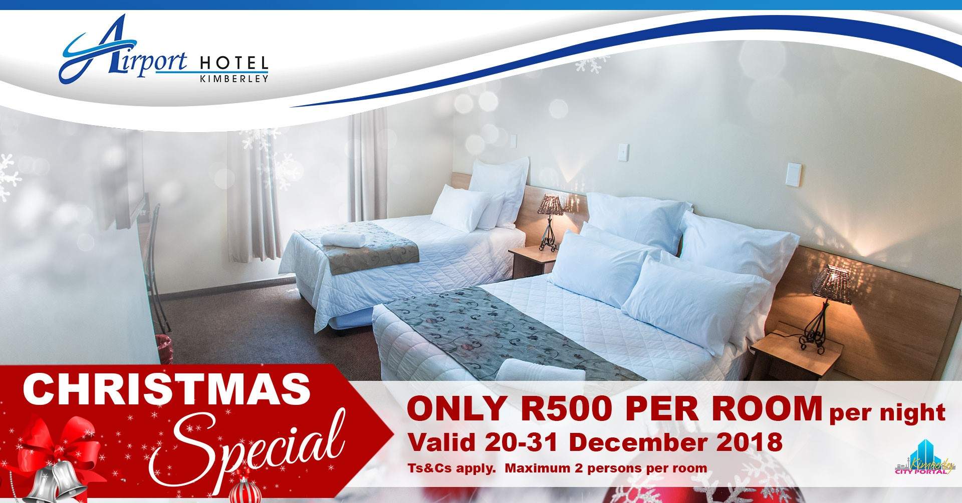 Airport Hotel Xmas Accommodation Special