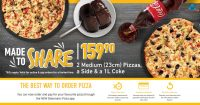 Made to Share Promotion @ Debonairs