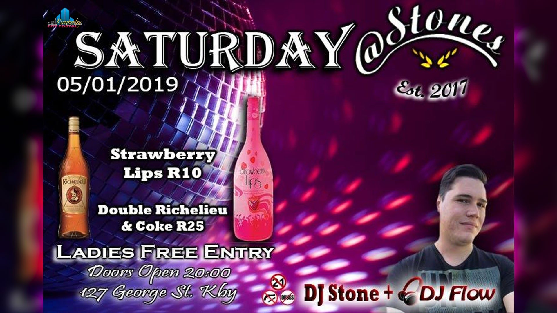 Saturday @ Stones Night Club Kimberley