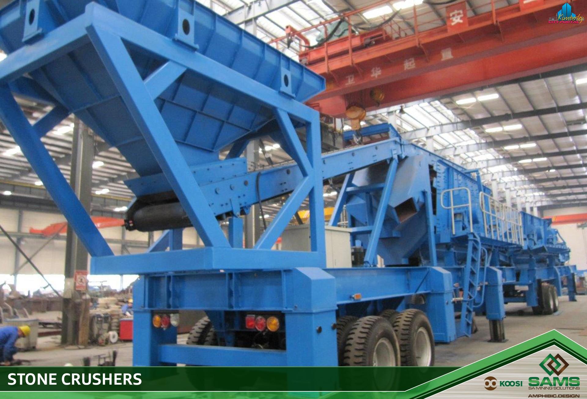 SA Mining Solutions - SAMS • Barkly West • CITY PORTAL
