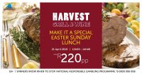 Easter Sunday Lunch @ Harvest Grill & Wine