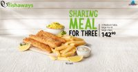 Sharing Meal for Three @ Fishaways