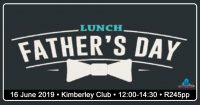 Father's Day Lunch @ The Kimberley Club