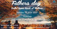 Fathers Day Lunch Buffet @ Mattanu
