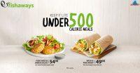 Under 500 Calorie Meals @ Fishaways