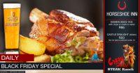 Black Friday Special @ The Crazy Horse Steak Ranch - Horseshoe Inn