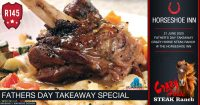 Father's Day Takeaways @ The Crazy Horse Steak Ranch – Horseshoe Inn