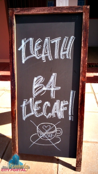 Angel Heart Coffee Shop in Kimberley