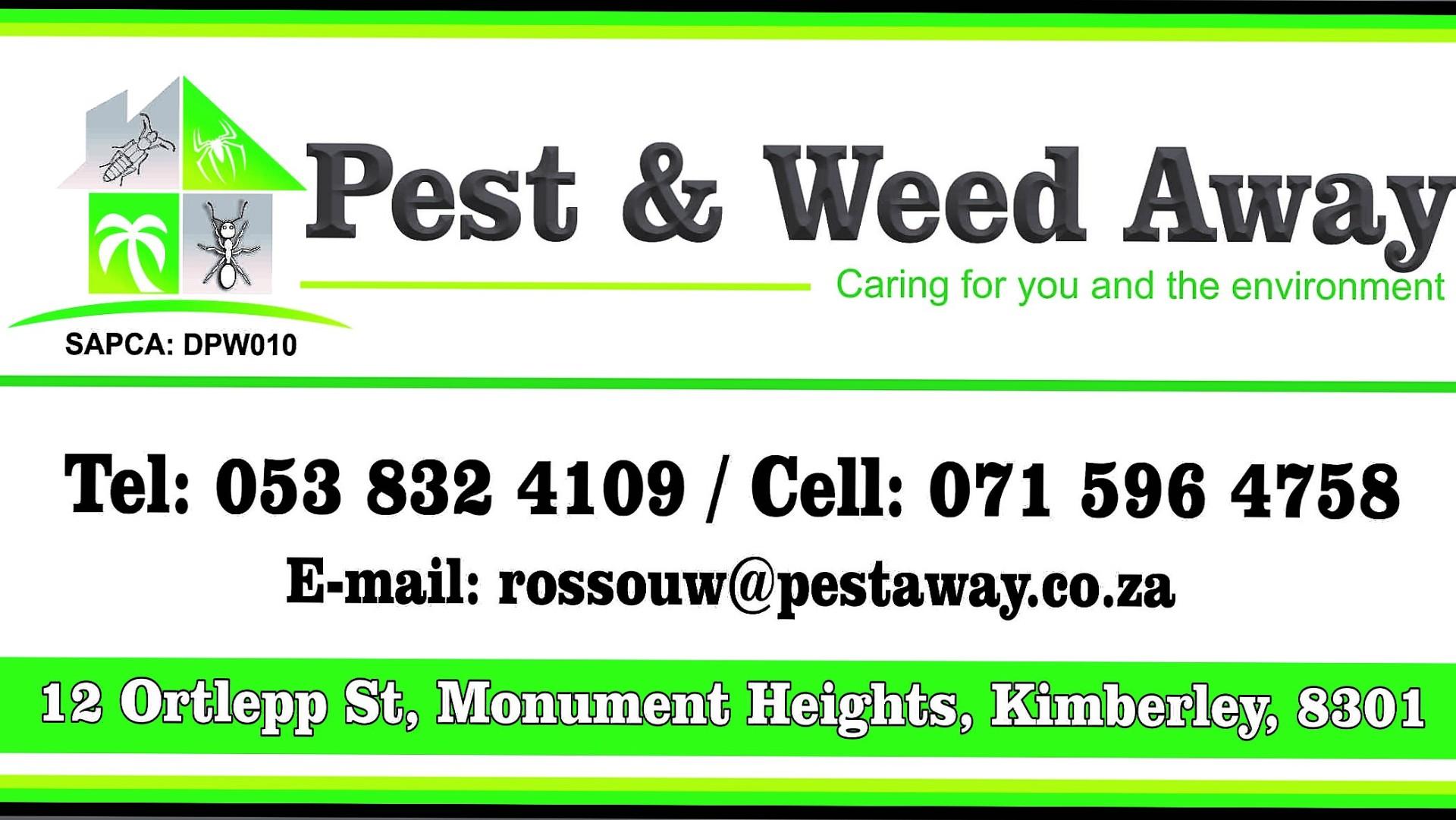 PEST WEED AWAY CAR ADVERT
